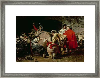 A Good Vintage Framed Print by Francesco  Vinea