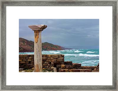 Ancient Greece Framed Print by Julia Fine Art And Photography
