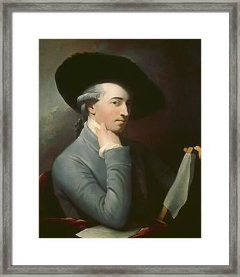 Benjamin West Framed Print by Benjamin West