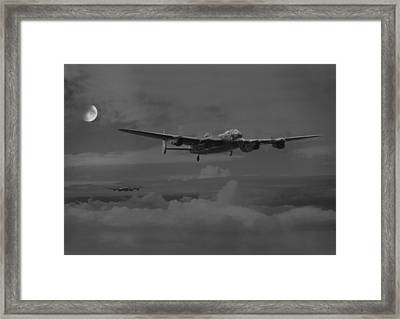 Bomber's Moon Framed Print by Pat Speirs