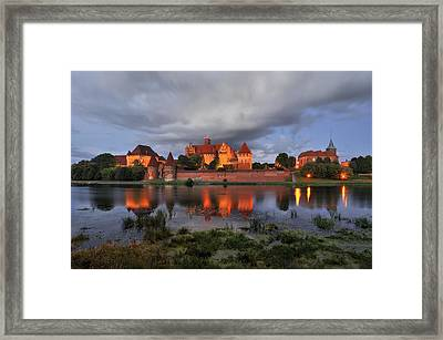 Castle Framed Print by Jan Sieminski