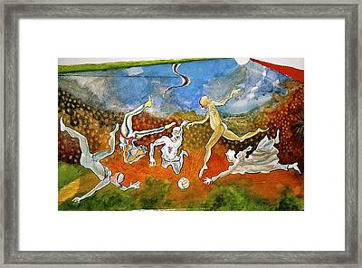 Close  Framed Print by Yves Barre