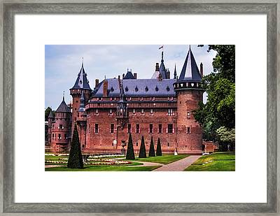De Haar Castle 4. Utrecht. Netherlands Framed Print by Jenny Rainbow