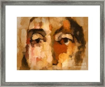 Ecce Homo Framed Print by Lutz Baar