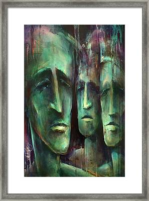 ' Endless II ' Framed Print by Michael Lang