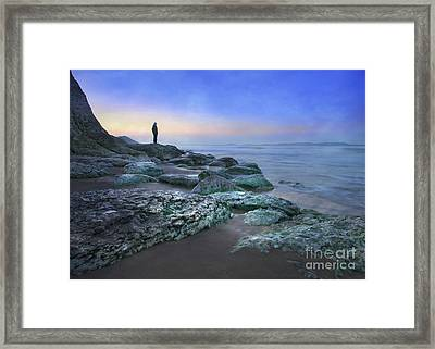 Evening View Framed Print by Roy  McPeak