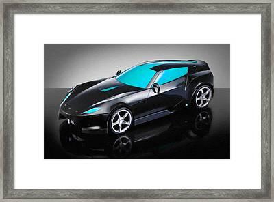 Ferrari 15 Framed Print by Lanjee Chee