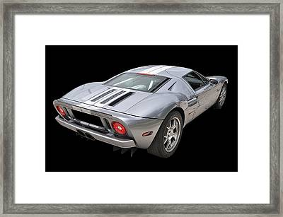 Ford Gt  Framed Print by Allen Beatty