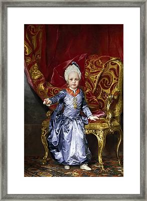 Francis Archduke Of Austria Framed Print by Anton Raphael Mengs
