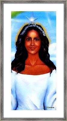 Goddess Yemaya Framed Print by Carmen Cordova