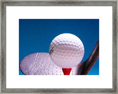 Golf Framed Print by David and Carol Kelly