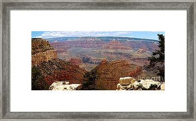 Grand Canyon Panoramic Framed Print by The Kepharts