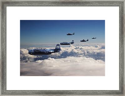 Grumman  Avenger - Lost.... Framed Print by Pat Speirs