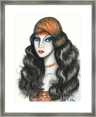 Gypsy Framed Print by Tara  Shalton