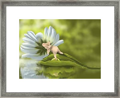 I'm So Sleepy... Framed Print by Veronica Minozzi