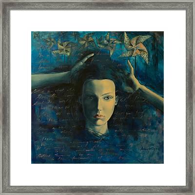 In A Half Forgotten Dream Framed Print by Dorina  Costras
