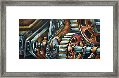 ' In Harmony ' Framed Print by Michael Lang