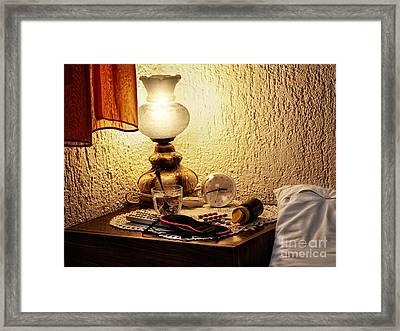 Insomnia Framed Print by Sinisa Botas