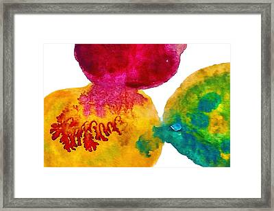 Interactions 3 Framed Print by Amy Vangsgard