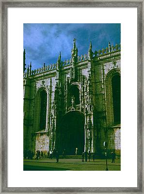 Jeronimos Monastery Framed Print by Donna Walsh