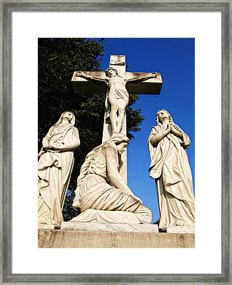 In Mourning...two Framed Print by Tom Druin