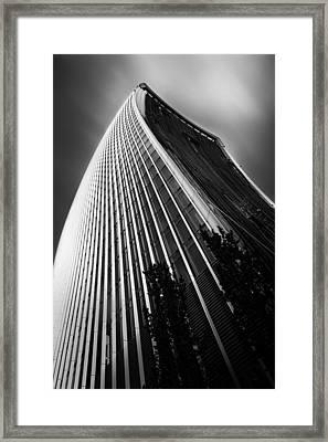 London Walkie Talkie Skyscraper Framed Print by Ian Hufton