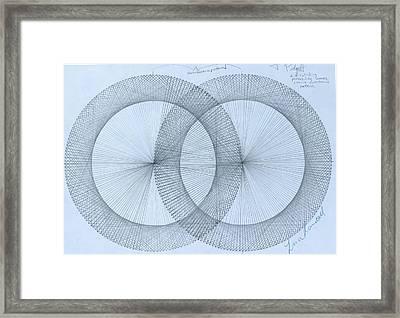 Magnetism Framed Print by Jason Padgett