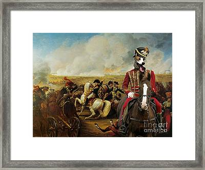 Magyar Agar - Hungarian Greyhound Art Canvas Print Framed Print by Sandra Sij