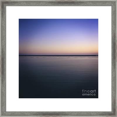 Mediterranean Sea. Provence. France Framed Print by Bernard Jaubert