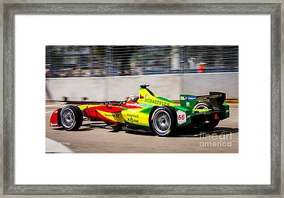 Miami Eprix Street Race Framed Print by Rene Triay Photography