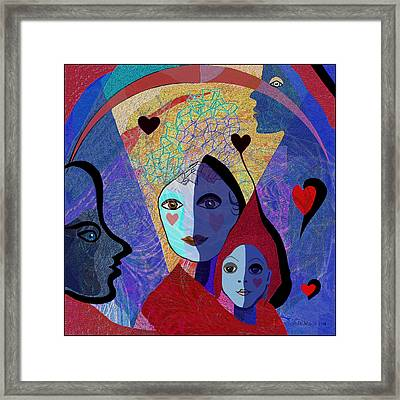 834 -  Mighty Mother  Framed Print by Irmgard Schoendorf Welch