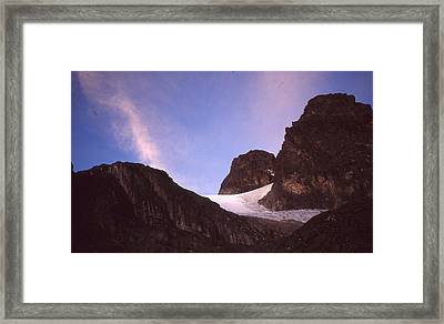 Mountains Of The Moon Africa 1997 Framed Print by Rolf Ashby