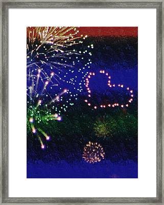 My 4th Of July Framed Print by Janie Johnson