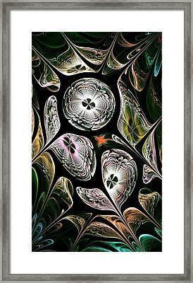 Night Vision Framed Print by Anastasiya Malakhova