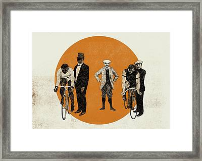 Old Time Trial Framed Print by Eliza Southwood