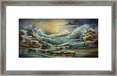 ' Ontario Evening ' Framed Print by Michael Lang