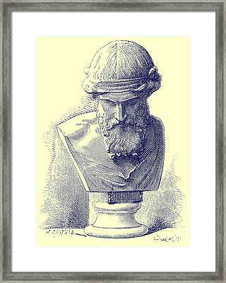 Plato Framed Print by Chapuis