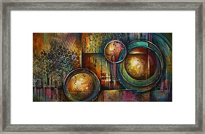 ' Remaining Elements' Framed Print by Michael Lang