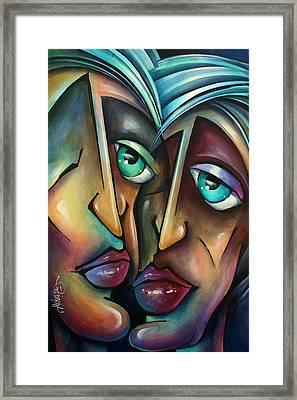 ' Spotlight ' Framed Print by Michael Lang