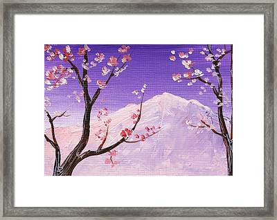 Spring Will Come Framed Print by Anastasiya Malakhova