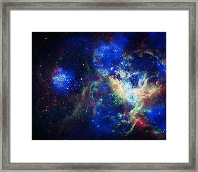 Tarantula Nebula 3 Framed Print by The  Vault - Jennifer Rondinelli Reilly