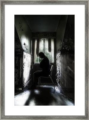 The Asylum Project - Waiting For The Miracle Framed Print by Erik Brede