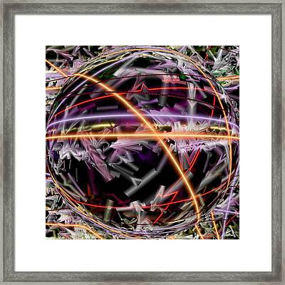 The Electric Body Feel That Mdma Brings To The Acid Body Load Framed Print by Sir Josef Social Critic - ART