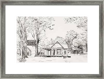 The Farm Framed Print by Susan Gauthier