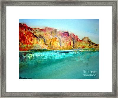 The Kimberly Australia Nt Framed Print by Roberto Gagliardi