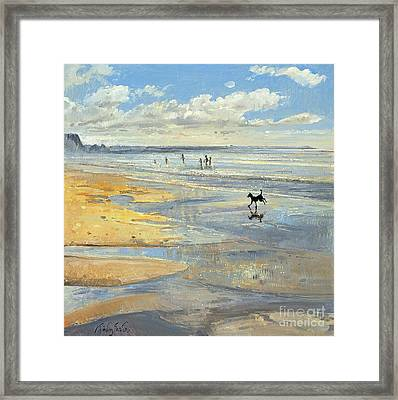 The Little Acrobat  Framed Print by Timothy  Easton
