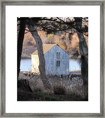 Van Wyck-lefferts Mill Framed Print by Karen Silvestri