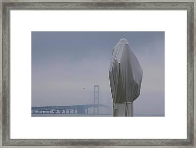 Veil Monument Framed Print by Randy Pollard