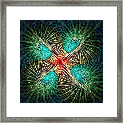 Visual Perception Framed Print by Anastasiya Malakhova