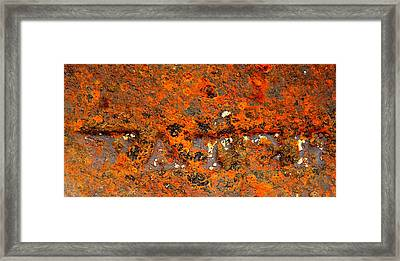 Water Framed Print by Chris Berry
